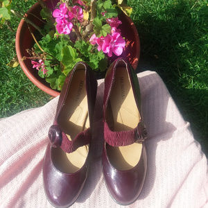 Maroon Merona Pumps
